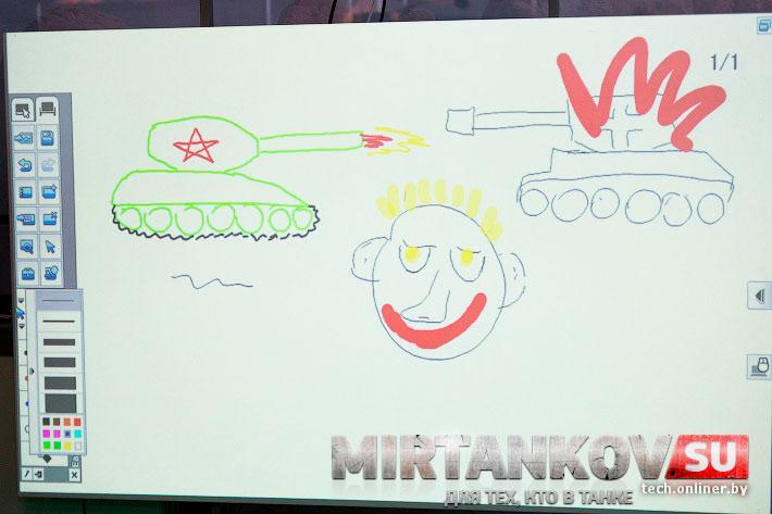 World of Tanks Blitz на выставке ТИБО-2013