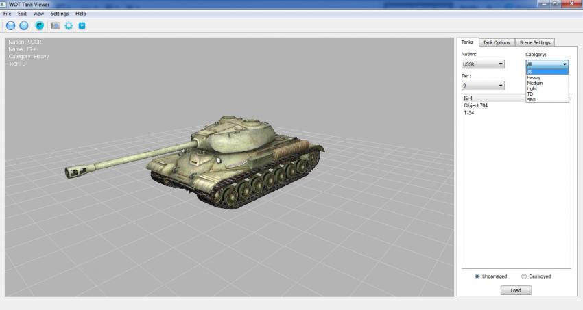 WOT Tank Viewer (версия 1.0.17) Архив