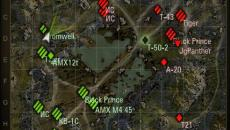 Миникарта с названием танков для World of Tanks Миникарты
