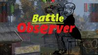 Battle Observer - ХП команд, панель счета, нанесенный урон для World of Tanks 1.6.0.7 Интерфейс