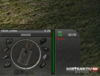 Панель повреждений в стиле металлик для WoT Панель повреждений