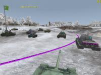 Показ топливных баков и БК на танках в WoT Шкурки с зонами пробития