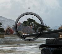 Черный прицел для World of Tanks Прицелы