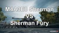 Сравнение M4A3E8 Sherman и Sherman Fury Новости