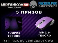 Итоги совместной раздачи призов с Fucken.pro Конкурсы
