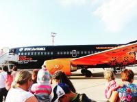 ЧП на борту самолёта, брендированном World of Tanks Новости