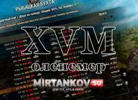 Мод XVM и оленемер для World of Tanks Интерфейс