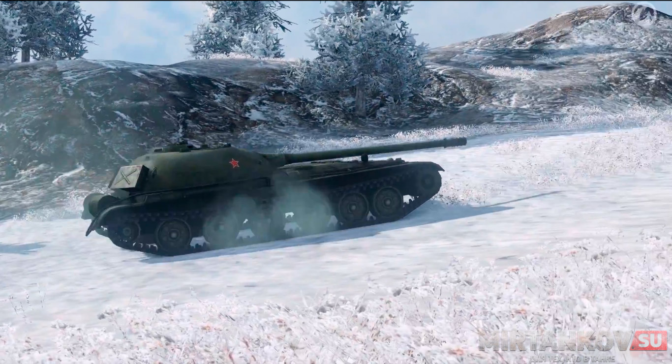 танк объект 416 world of tanks