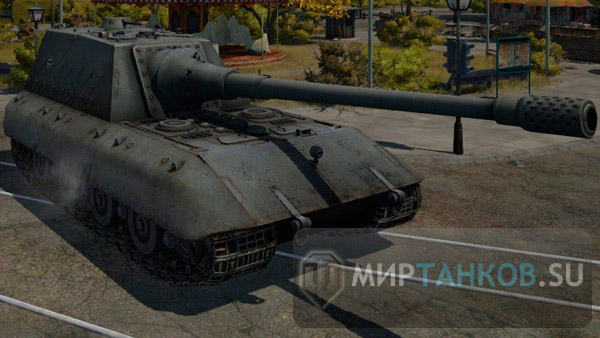 JagdPz E-100 world of tanks