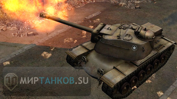 T110E4 американская ПТ-САУ мир танков world of tanks