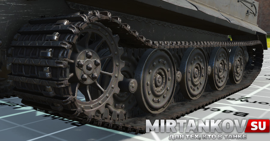 тигр hd катки world of tanks
