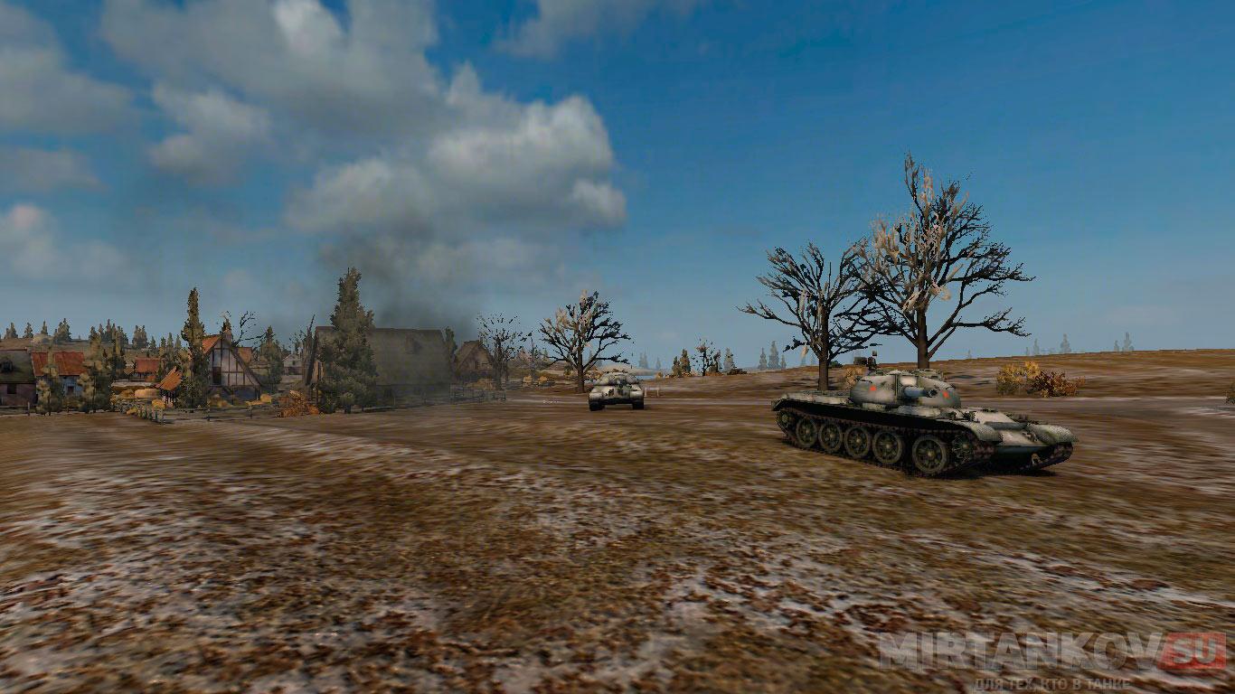 Создание скриншота в игре World of Tanks