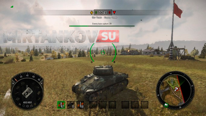 world of tanks xbox интерфейс