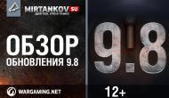 Обновление 0.9.8 выходит 26 мая 2015 Новости