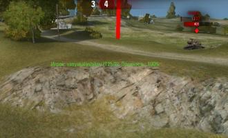 Красные столбы на месте танков вне квадрата отрисовки для World of Tanks Запрещенные моды