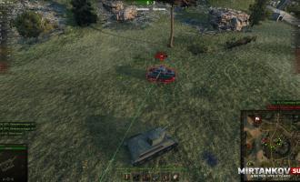 Лазерная указка для всех вражеских танков в WoT Запрещенные моды