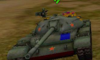 Как пробить Type 59 Шкурки с зонами пробития