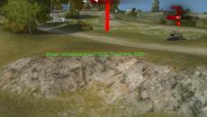 Красные столбы нате месте танков за исключением квадрата отрисовки чтобы World of Tanks Запрещенные моды