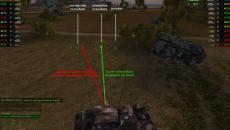 Ствол Хаоса - совмещение стандартного и серверного прицела для World of Tanks Разные моды