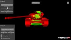 WoT Armor Inspector - изучаем броню танков сверху планшете с целью WoT Программы