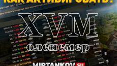 Как активировать статистику XVM оленемер с целью World of Tanks XVM