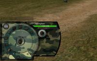 Панель повреждений в стиле хаки для World of Tanks Панель повреждений