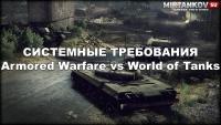 Системные требования Armored Warfare Новости