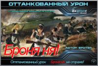 Учет заблокированного урона с модом Броняня для World of Tanks Интерфейс