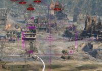 Фиолетовый прицел для World of Tanks Прицелы