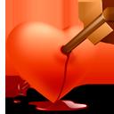сердце со стрелой