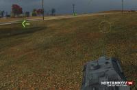 Мод Тылы - индикатор ближайшего к вам врага для World of Tanks 0.9.15.1 Интерфейс