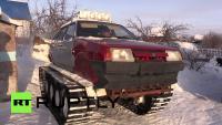 Житель Омска собрал танк из Лады Новости
