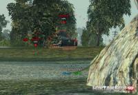 Информационная мини-панель о танке противника для WoT 0.9.16 Интерфейс