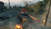 Цветные стикеры пробитий для World of Tanks 0.9.15 Разные моды
