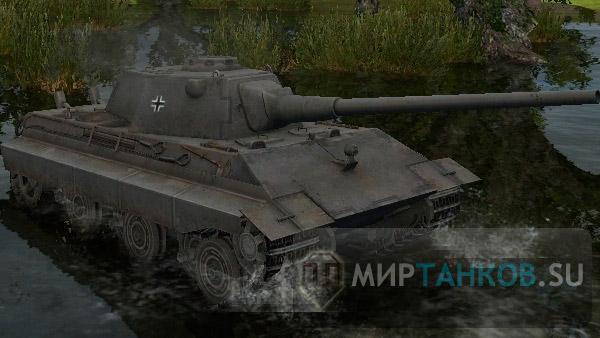 Обзор немецкого среднего танка 10 уровня E-50 Ausf.M.