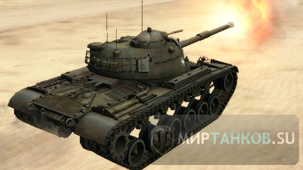 танк M48A1 wot world of tanks