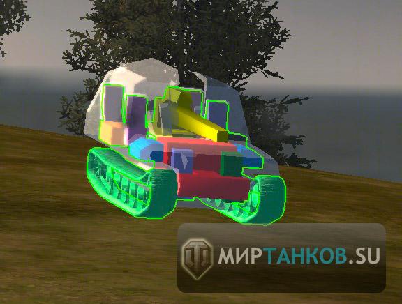колижен 3d модели танков