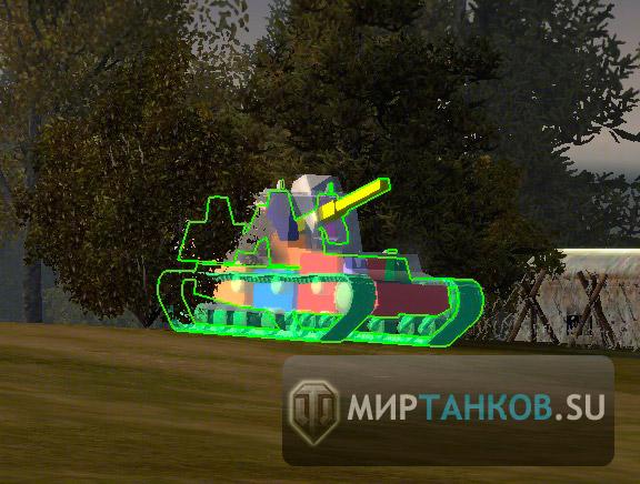 collision модели танков world of tanks