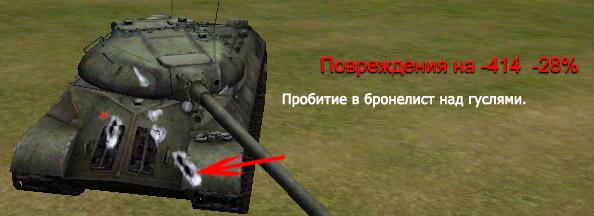 пробитие ис-3 world of tanks