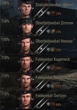 Умения экипажа с учетом Боевого братства