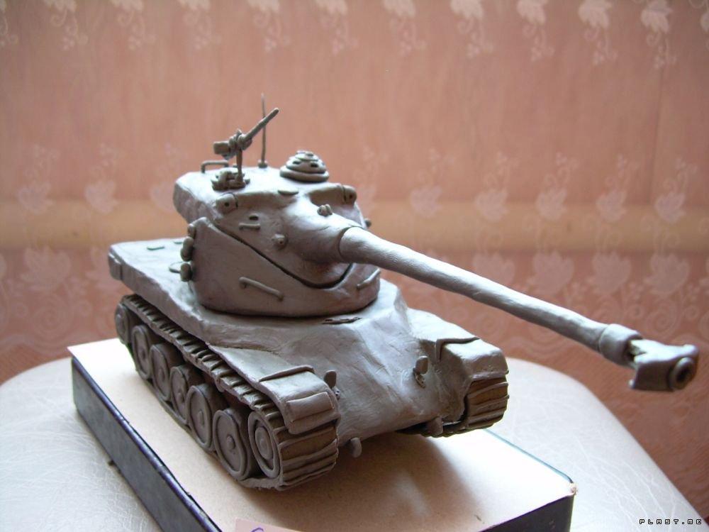 Схема танка из бумаги легко