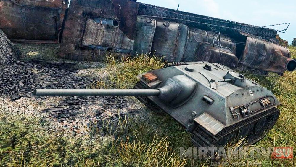 Мнение игроков о ПТ-САУ E-25 в World of Tanks