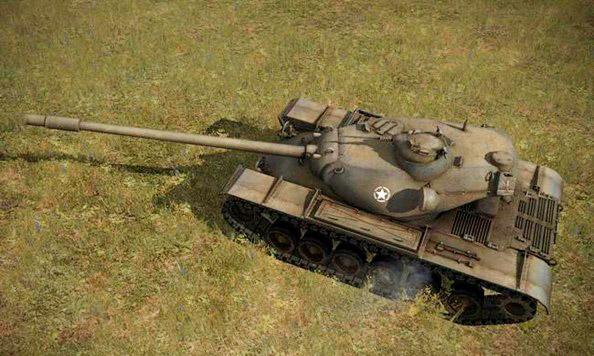 Американский тяжелый танк Т110E5.