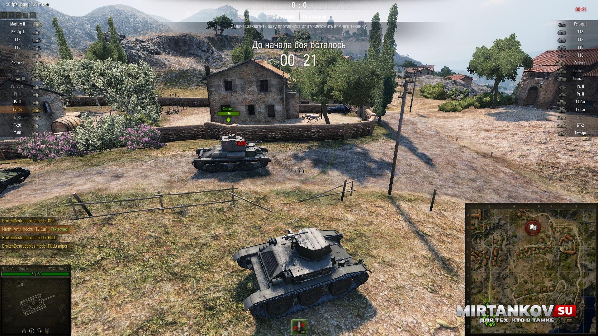 Запрещенные моды world of tanks: список и наказания.