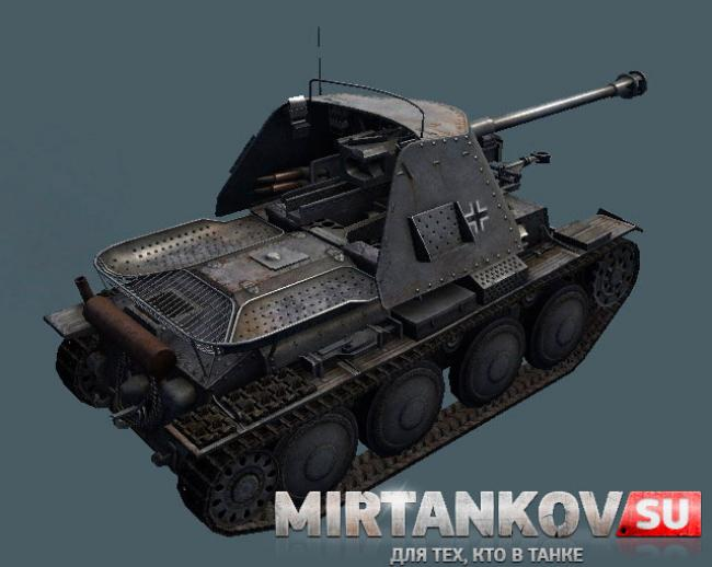 marder III world of tanks 0.8.9