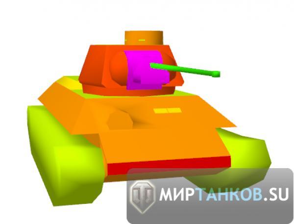 Во лбу толщина брони танка