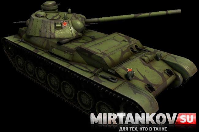 Первые скриншоты танков из патча world of