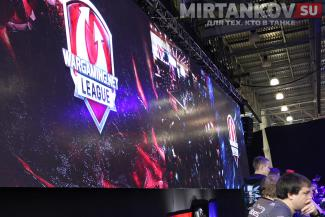 монитор wargaming net league на игромире