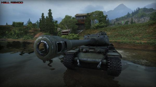 Ремоделинг танка кв 1с в hd качество