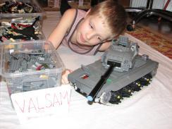 лего и танк